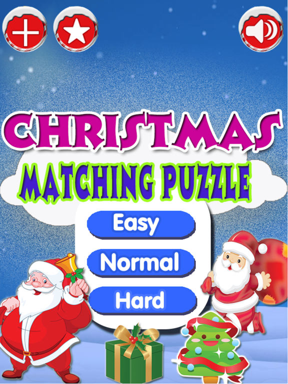 Christmas Matching Pairs - Santa Slaus and Xmas screenshot 8