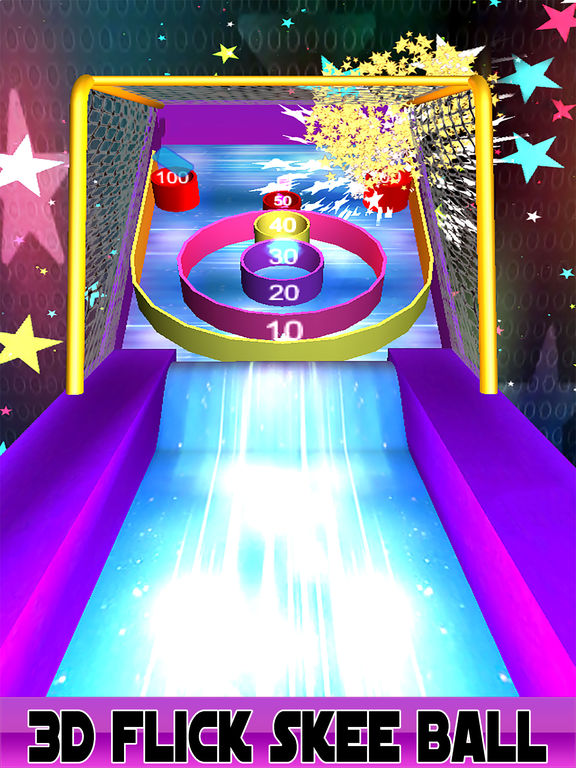 3D Flick Roller Ball Skee Arcade 2017 screenshot 4