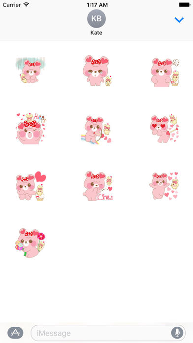 Valentine Card Stickers Pack screenshot 3