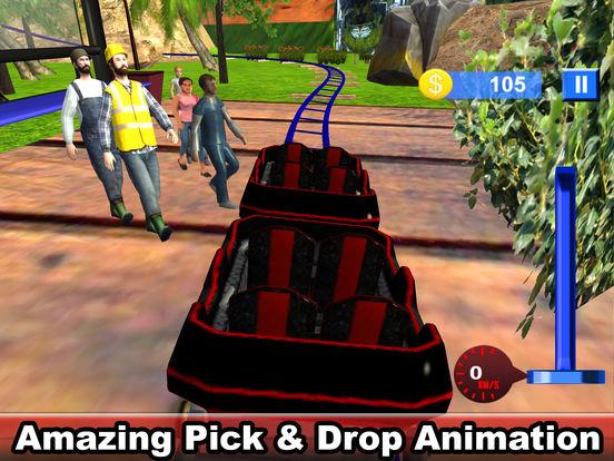 Water-Fall Forest Roller Coaster screenshot 7