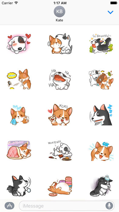 Terrier Dog And Friends Stickers screenshot 1