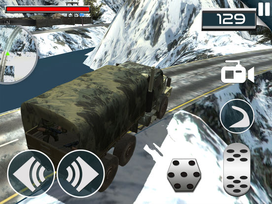Military Soldier Truck Drive screenshot 6