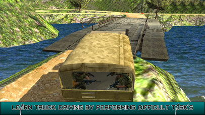 US Army Trucker Park : Gambler Traffic Sim-ulator screenshot 4