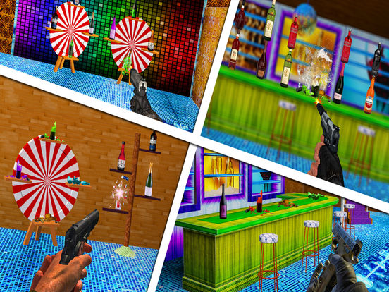 Pistol Bottle Shooter : Free Shooting Game screenshot 8