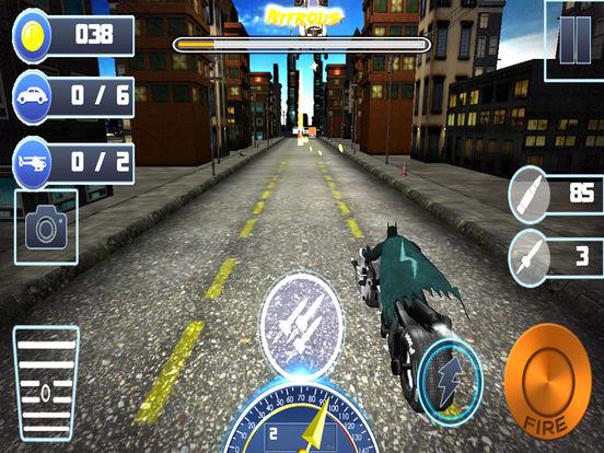 3D Highway Bat Racer : A Kids Super Hero Rider screenshot 5