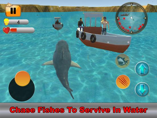 Hungry Dolphin Fish Simulator screenshot 9
