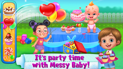 OMG! Messy Baby screenshot 2