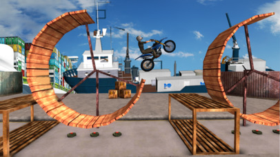 Tricky Bike Trail Stunt : Real Crazy Ride-r 2017 screenshot 1