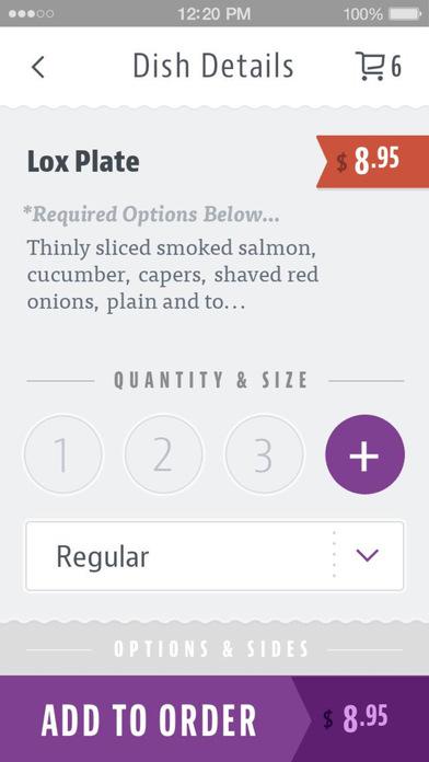 Purple Onion Cafe screenshot 4