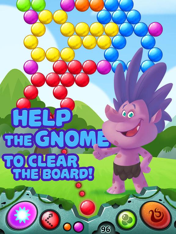 Bubble Shooter Gnomes - For Trolls screenshot 10