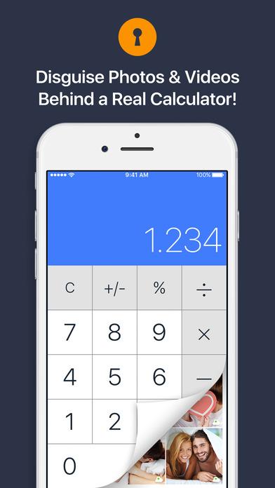 Secret Calculator Vault: Keep Private Photo Safe    Apps