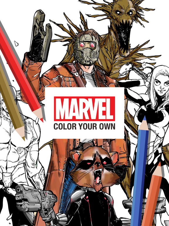 Marvel: Color Your Own screenshot 6