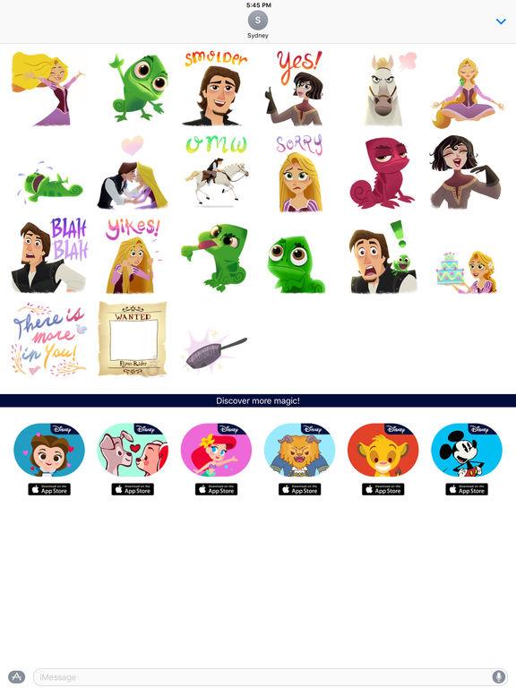 Disney Stickers: Tangled screenshot 10