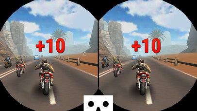VR Drift MotorBike Racing : Extreme Stunt Rider 3D screenshot 2