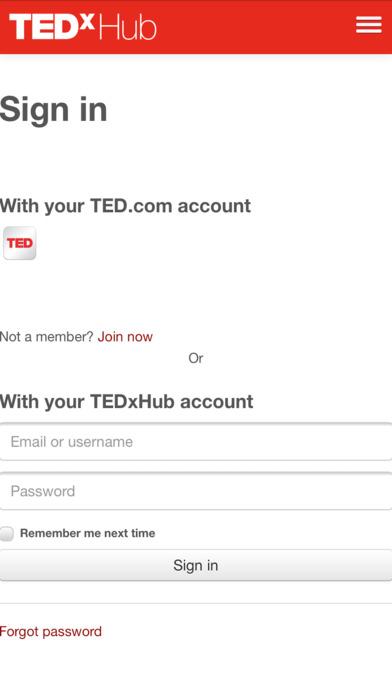 TEDxHub screenshot 5
