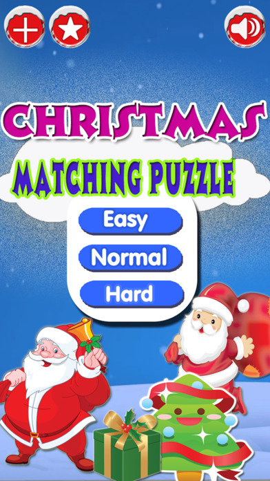Christmas Matching Pairs - Santa Slaus and Xmas screenshot 3