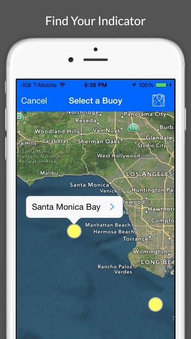 Surf Report and Forecast Tool screenshot 2