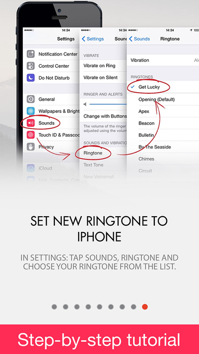 free ringtones for iphones ringtones 1 on the app 14164