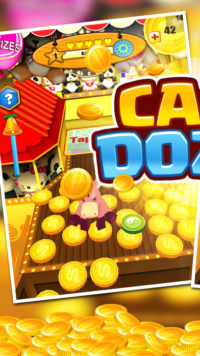 Cash Dozer! Awesome Gold Coin Jackpot Machine screenshot 1