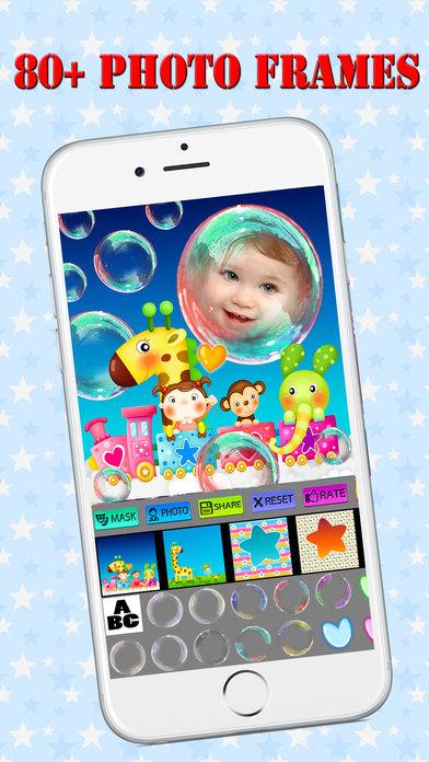 Amazing Baby Photo Frames Pro (HD) screenshot 1