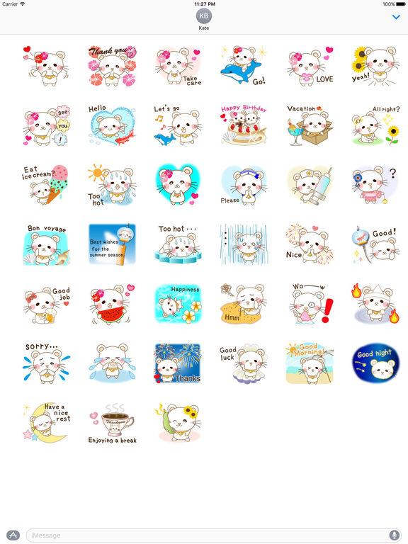 Panda Cat Sticker screenshot 4