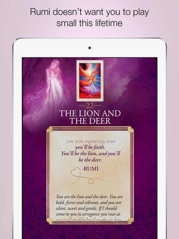 Rumi Oracle - Alana Fairchild screenshot 9