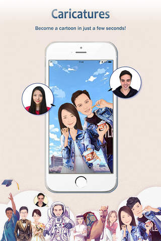MomentCam – Customized Cartoons & Stickers - náhled
