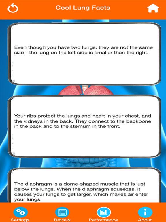 Human Body Parts : Lungs Quiz screenshot 10