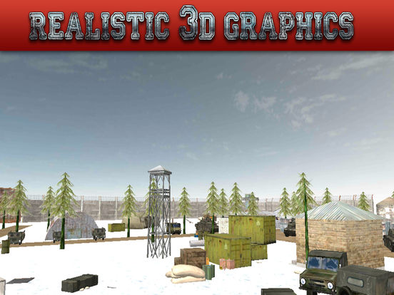 Gunship Rescue Force Battle Helicopter Attack Game screenshot 6