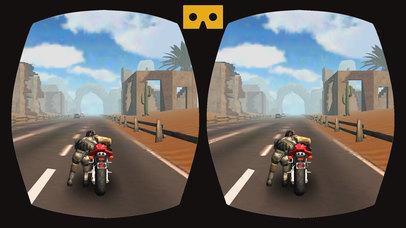 VR Drift MotorBike Racing : Extreme Stunt Rider 3D screenshot 4