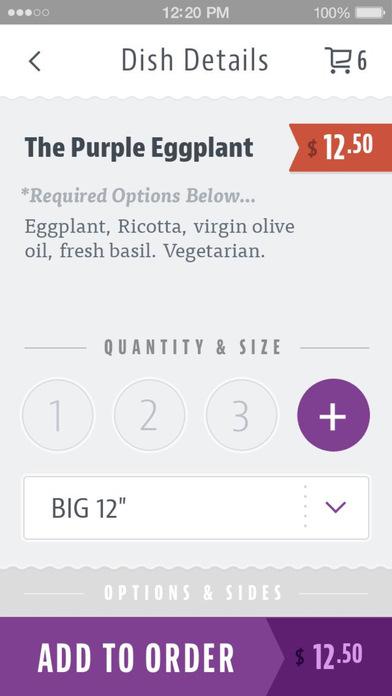 Purple Eggplant Pizza screenshot 4