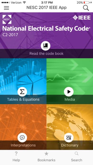NESC 2017 IEEE App screenshot 1
