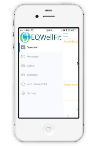EQWellFit - náhled