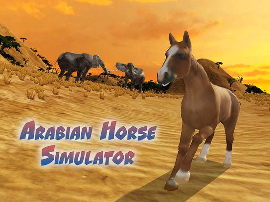 Arabian Horse Simulator Full screenshot 5