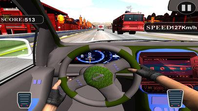 Asphalt Race in Car : A Dashboard view Drive 2017 screenshot 2