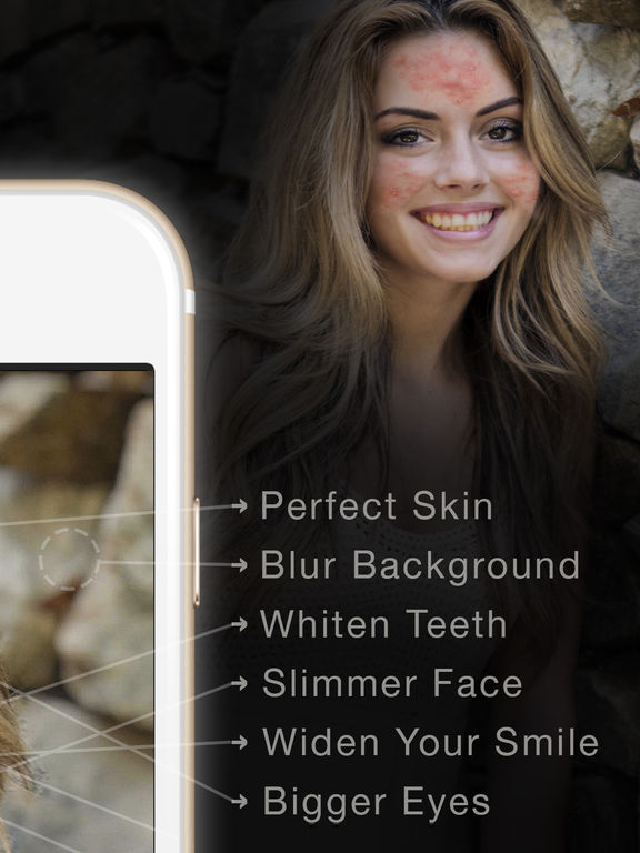 Face Perfect - tune and edit, set your selfie free screenshot 7