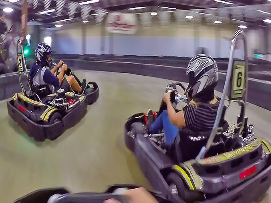 VR Go Cart Super Charged for Google Cardboard screenshot 5