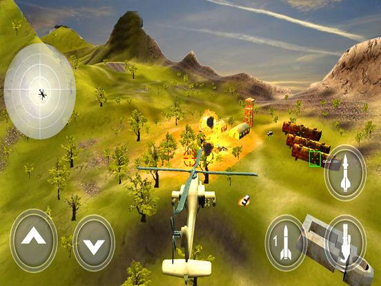 War-ship Sea Helicopter Strike : 3D Battle-Field screenshot 8