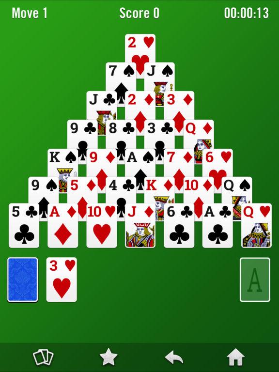 Pyramid Sοlitaire screenshot 3