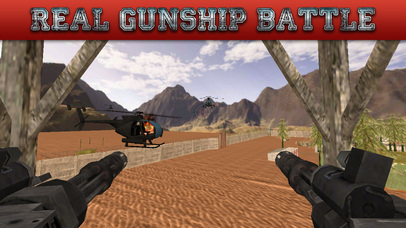 Gunship Rescue Force Battle Helicopter Attack Game screenshot 3