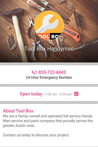 Tool Box Handyman Service+ - náhled
