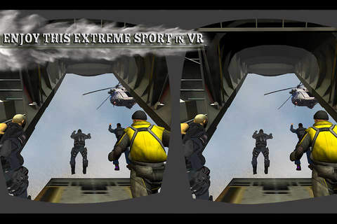 Paratroops Skydive Training - Paragliding Games 3D - náhled