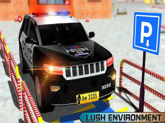 Charismas Police Car Park : Real Stunt Car Drive screenshot 6