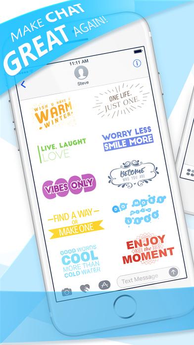 Textist - Colorful Vivid Text! screenshot 1