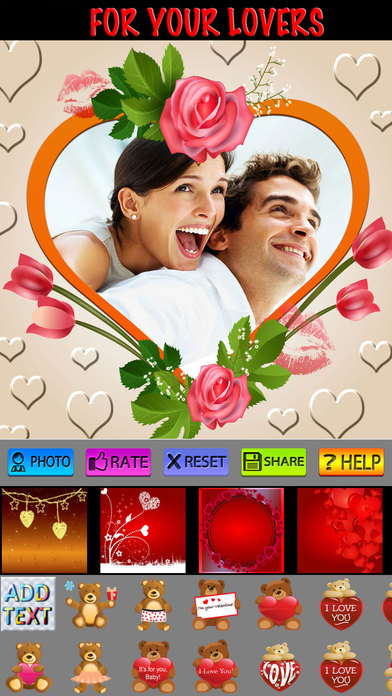 Love Photo Frames (HD) screenshot 1