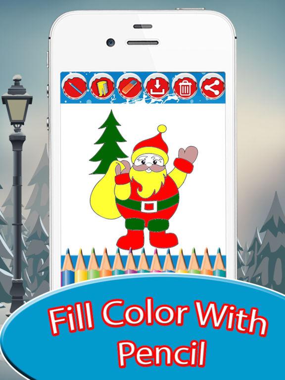 Christmas Drawing Pad - holiday activities for kid screenshot 8