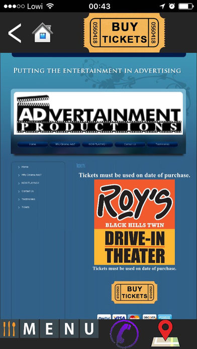 Roy's Twin Drive-In screenshot 1