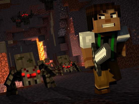 Minecraft: Story Mode - Season Two screenshot #1