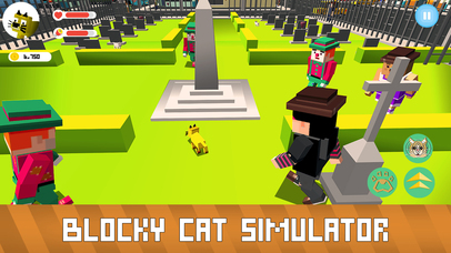 Blocky Cat Simulator Full screenshot 3