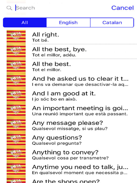 Catalan Phrases screenshot 4